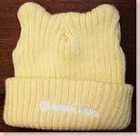 ☆黄色の毛糸の帽子(USED)☆
